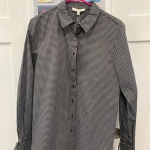 Nordstrom button up long sleeve blouse.